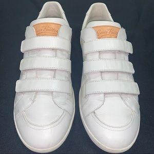 Men's Sz 9 Louis Vuitton White Sneakers